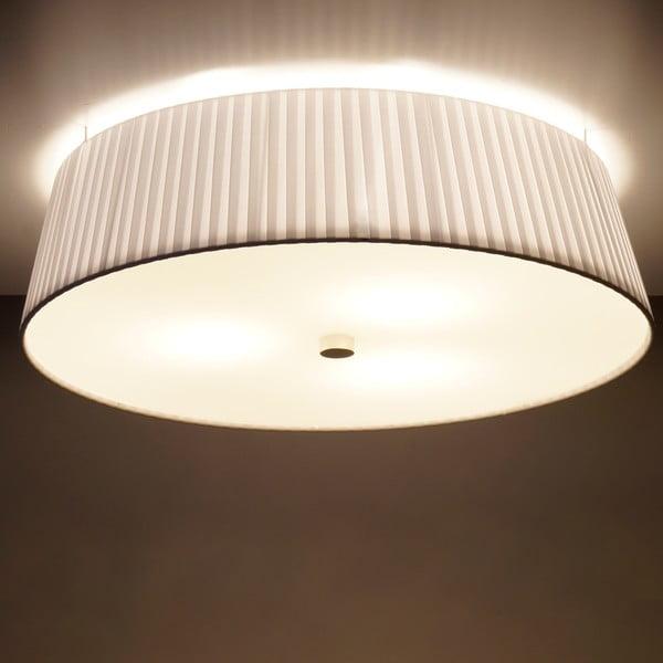 Biała   lampa sufitowa Bulb Attack Dos Plisado, ⌀ 45cm