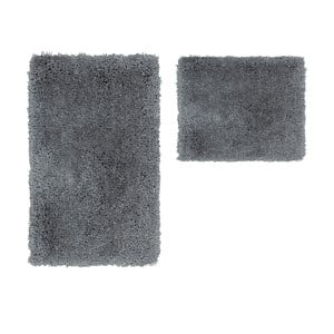 Zestaw 2 dywaników łazienkowych Citylights Silver