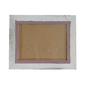 Biała ramka na zdjęcia Mendler Shabby 21x26 cm