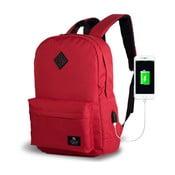 Czerwony plecak z portem USB My Valice SPECTA Smart Bag