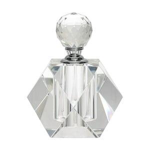 Szklany flakon na perfumy Green Gate, wys. 10 cm
