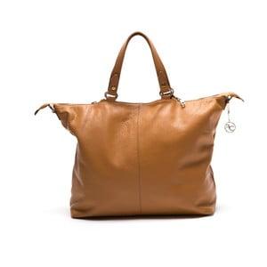 Skórzana torebka Fiora, koniak