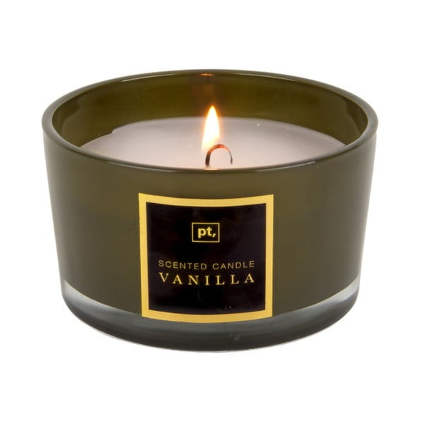 Świeczka o zapachu wanilii PT LIVING Scented Candle, 27 h