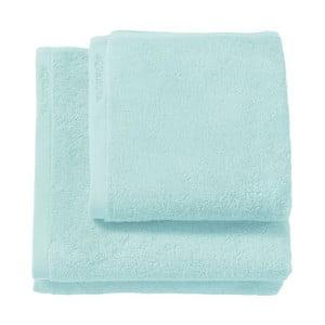 Jasnoniebieski ręcznik z bawełny egipskiej Aquanova London, 55x100 cm