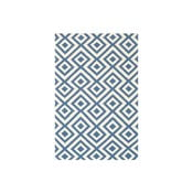 Dywan wełniany Luisa Middle Blue, 200x140 cm