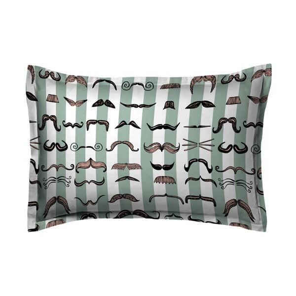 Poszewka na poduszkę Hipster Moustache, 50x70 cm