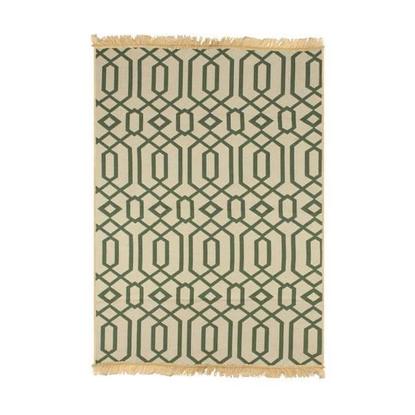 Zielono-beżowy dywan Ya Rugs Kenar, 120x180cm