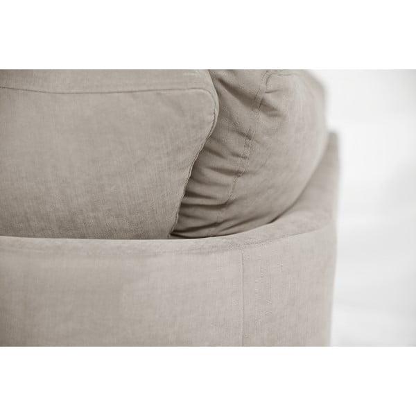 Sofa narożna Jalouse Maison Irina, lewy róg, taupe