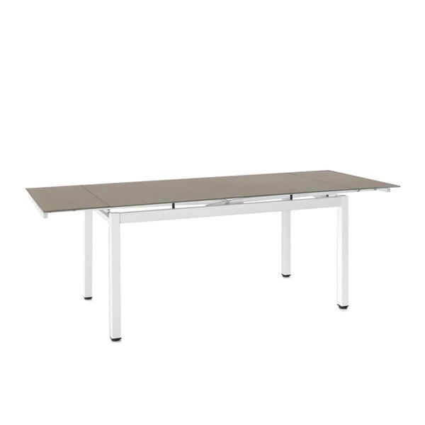 Stół rozkładany Tecno, 150-220 cm, beżowy