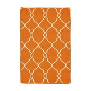 Ręcznie tkany dywan Kilim JP 11164 Orange, 90x150 cm