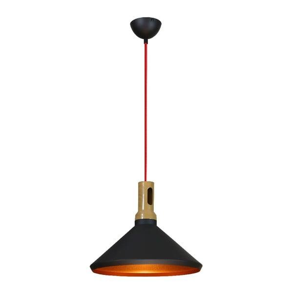 Lampa sufitowa Robinson II, czarna