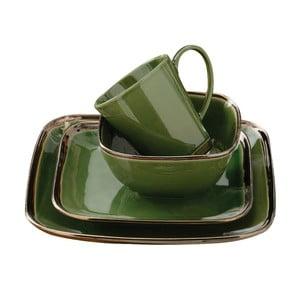 Zestaw naczyń Bronze Verde, 16 szt.