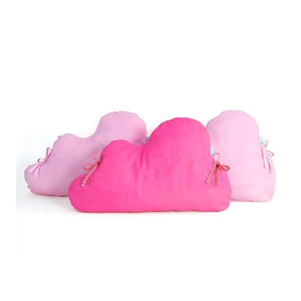 Bawełniany ochraniacz do łóżeczka Mr. Fox Nube Pink, 60x40 cm