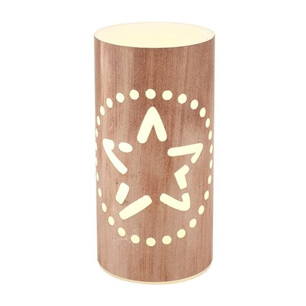 Świeczka LED Vorsteen Wood Candlestick, 15cm