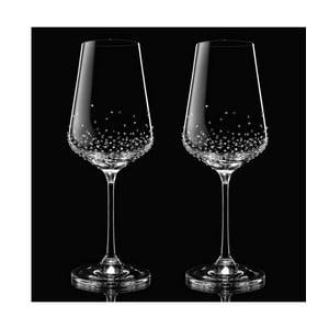 Zestaw 2 kieliszków do wina Amon ze Swarovski Elements w eleganckim opakowaniu