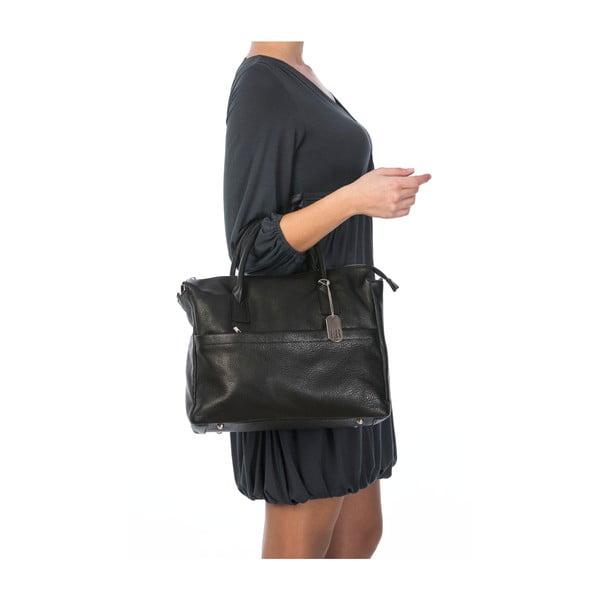 Skórzana torebka Grana Black