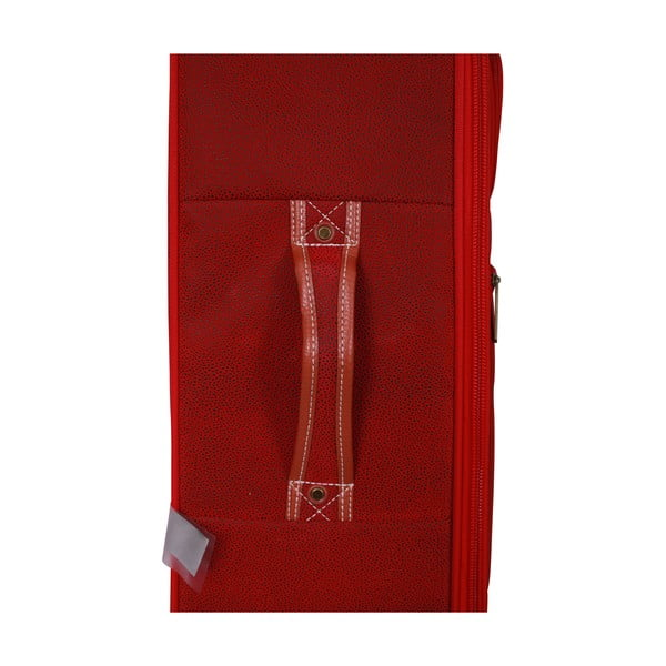 Zestaw 3 walizek Jean Louis Scherrer Set Red