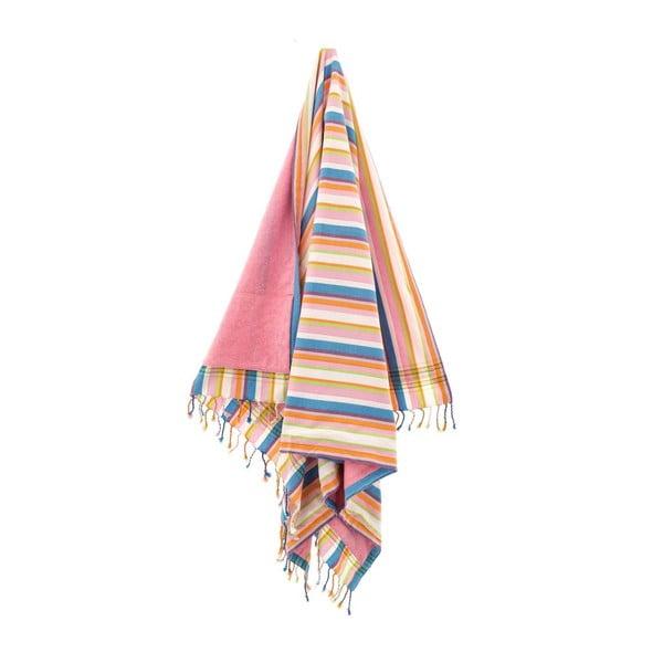 Ręcznik Havva Pink, 100x178 cm