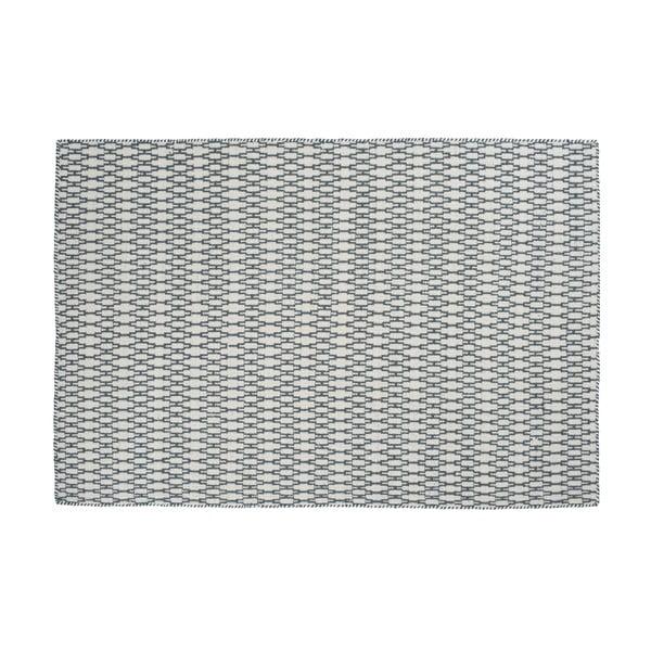 Wełniany dywan Elliot Slate, 140x200 cm