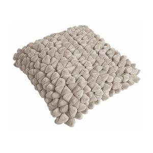 Piaskowobrązowa poduszka ZicZac Pebble, 45x45 cm