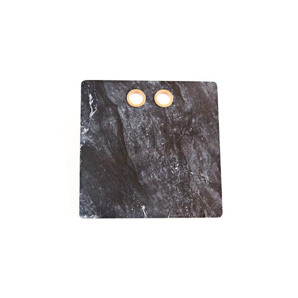 Marmurowa deska do serwowania Marble Black