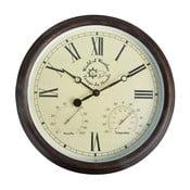 Zewnętrzny zegar ogrodowy z cyframi rzymskimi Ego Dekor