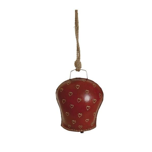 Dzwonek wiszący Red Heart