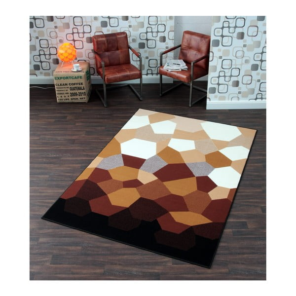 Dywan Hanse Home Prime Pile Abstract Caramel, 120 x 170 cm