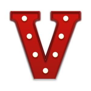 Światło dekoracyjne Carnival V, czerwone