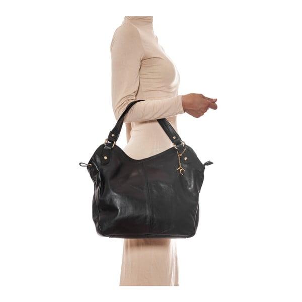 Skórzana torebka Renata Corsi 2114 Nero