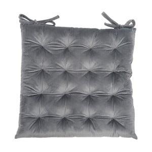 Poduszka na krzesło Velour Gray