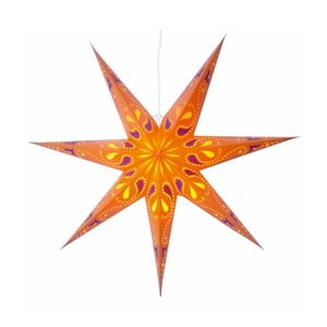 Gwiazda świecąca Siri Orange, 70 cm
