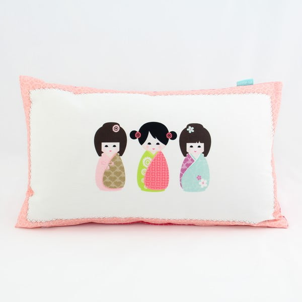 Poszewka na poduszkę Kokeshi 50x30 cm