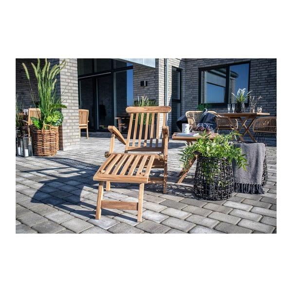 Leżak z drewna tekowego House Nordic Arrecife