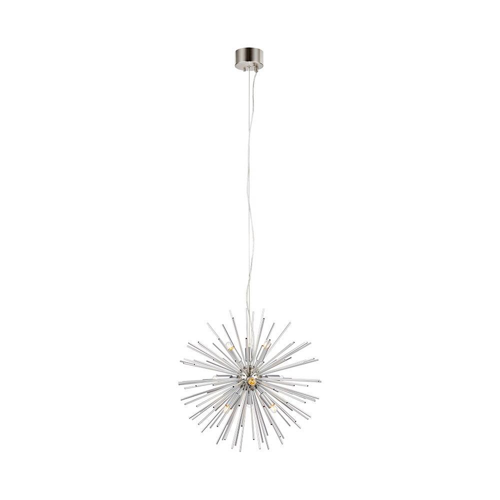 Biała lampa wisząca Markslöjd Soleil