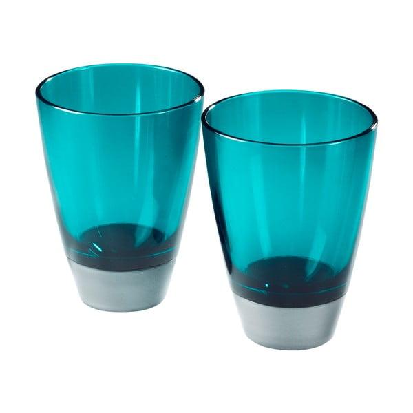 Zestaw 2 szklanek Entity Blue