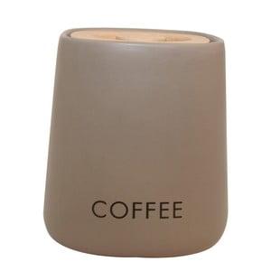Pojemnik na kawę Cubic Matt Taupe