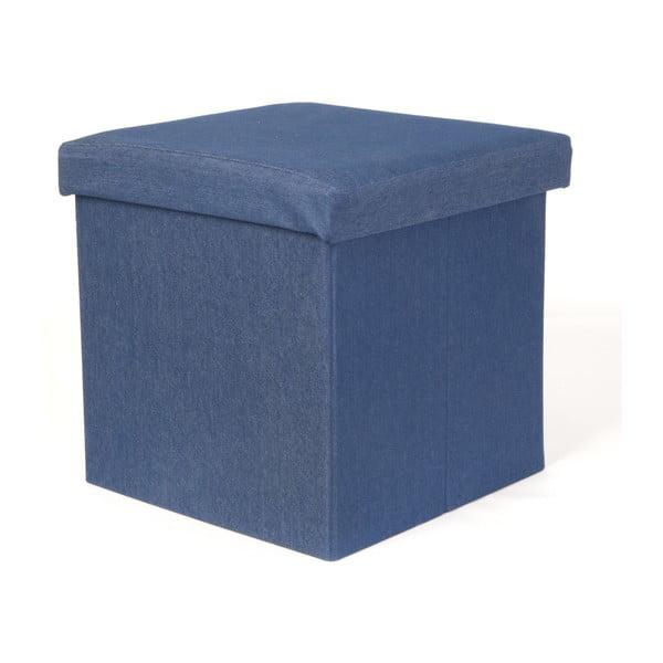 Niebieski stołek rozkładany PT Denim Blue