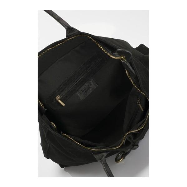 Czarna torebka skórzana Massimo Castelli Abbondio