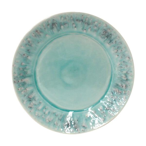 Niebieski talerz ceramiczny Costa Nova Madeira, ⌀ 27 cm