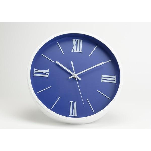 Zegar Modern Blue, 36 cm