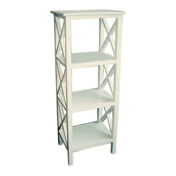 Komoda White Shelf