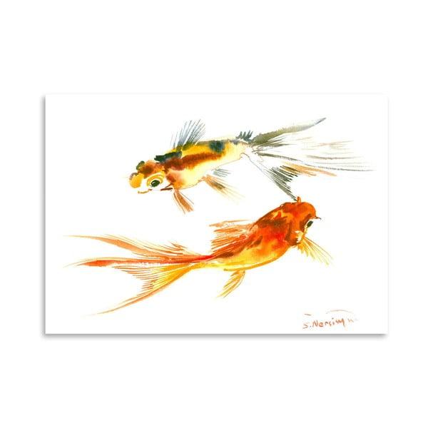 Plakat Goldfish Koi
