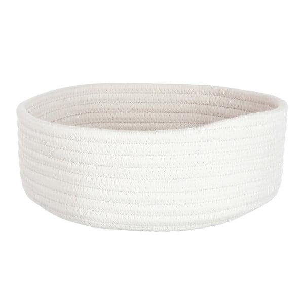 Koszyk Cotton White, 26x24 cm