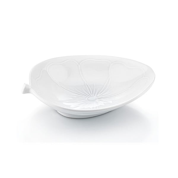Porcelanowy talerz Kwiat