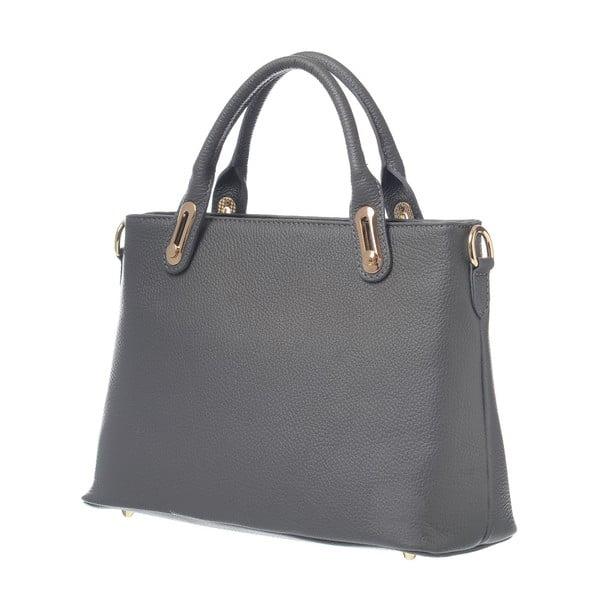Skórzana torebka Mood Glam Grey