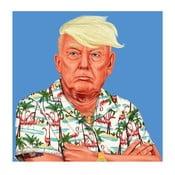 Obraz Fisura Donald Trump, 50x50 cm