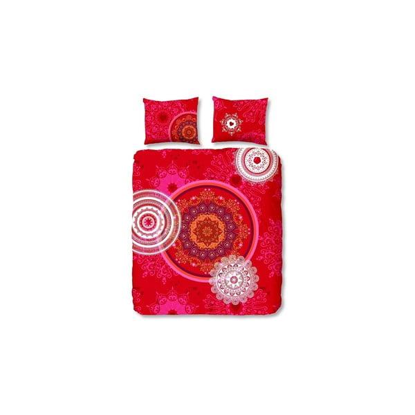 Pościel Mandala Red, 200x200 cm