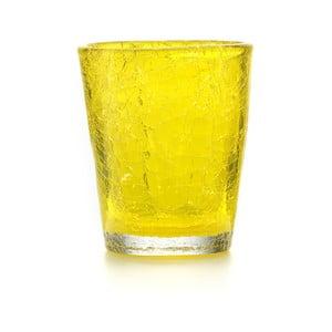 Zestaw 6 szt. szklanek Fade Ice, żółte