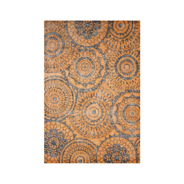 Dywan wełniany Ontario, 160x230 cm, pomarańczowy